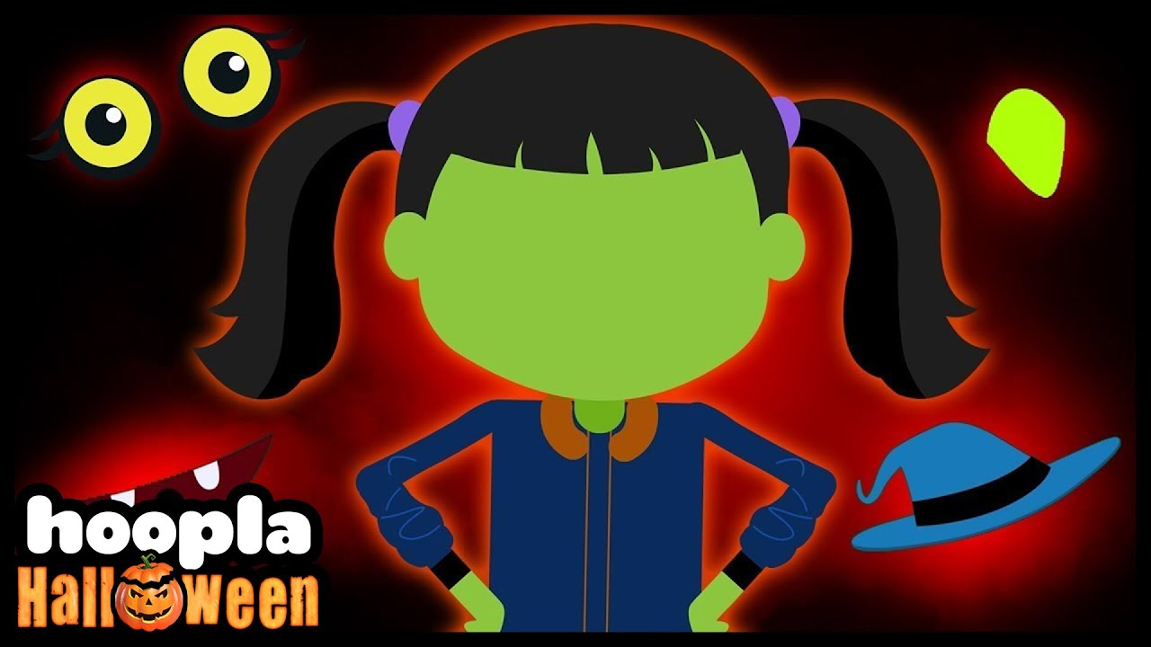 Guess The Missing Face Game | Funny Halloween Rhymes for Children | Hoopla Halloween