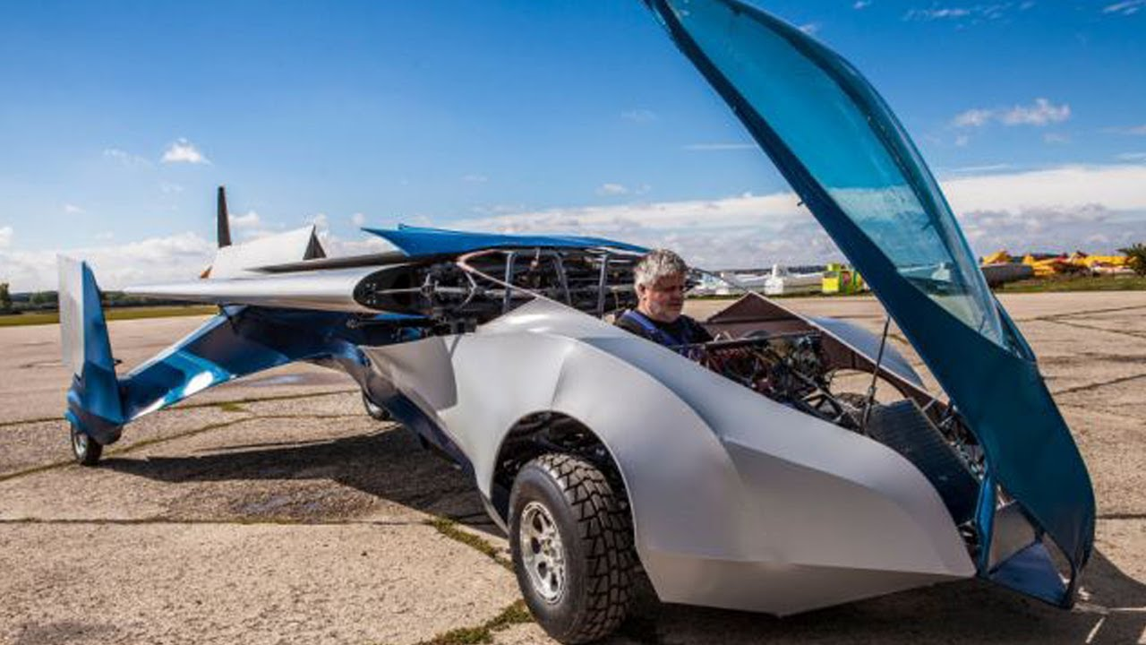 First Ever Flying Car - AeroMobil - YouTube