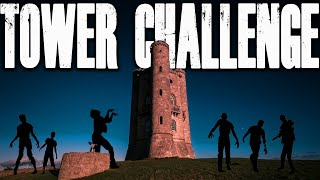 ZOMBIES DER TOTEN TOWER CHALLENGE (Call of Duty Black Ops Zombies)