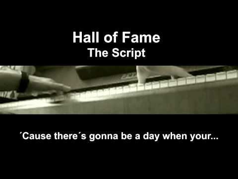 Hall of fame - The Script | Piano cover karaoke by MK