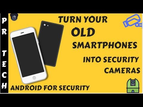 Use Your Old Smartphones As CCTV Cameras|ALFRED HOME SECURITY|In Hindi |PR  Tech's