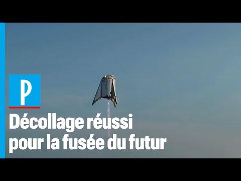 Premier décollage pour la fusée futuriste d'Elon Musk