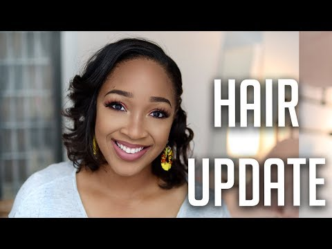 Relaxer Update 2019 | Healthy Relaxed Hair 2019