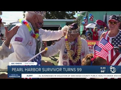 San Diego Pearl Harbor survivor turns 99