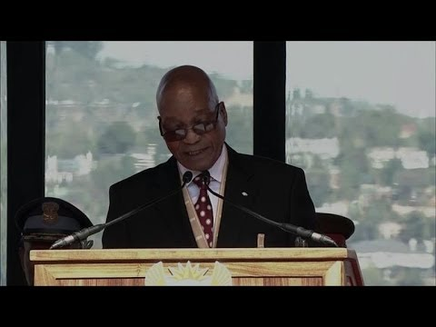 Zuma sworn in for second term as South Africa president