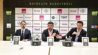 easycredit bbl saison 2016 2017   7 spieltag pressekonferenz