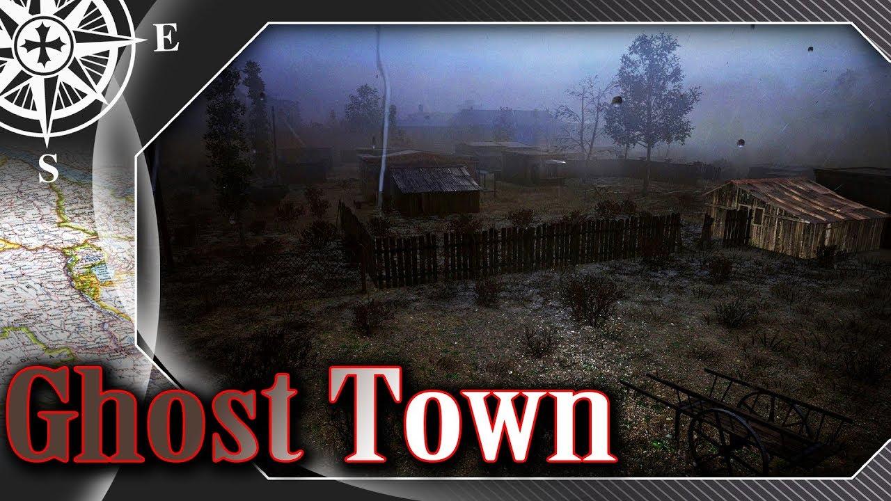 Miasto Duchów i burza z piorunami – MAPA – World of Tanks