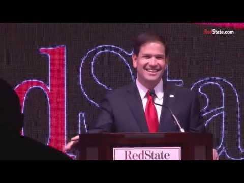 Sen Marco Rubio speaks at RedState Gathering 2015