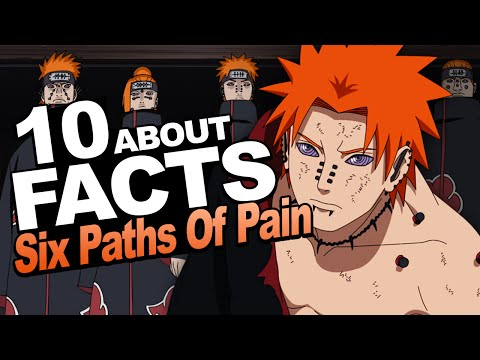 10 Facts About The Six Paths of Pain You Should Know!!! w/ ShinoBeenTrill