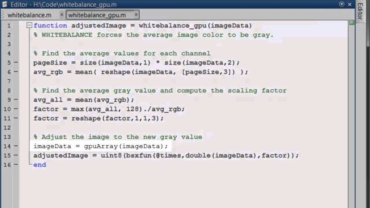 Matlab Demo - Intro to Parallel Programming