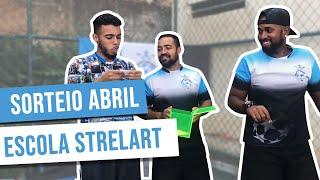Sorteio Mês de Abril 2018 - Escola de Futebol Strelart