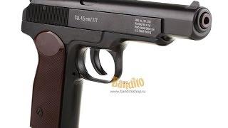 Огляд пневматичного пістолета Gletcher APS blowback Пістолет Стечкіна