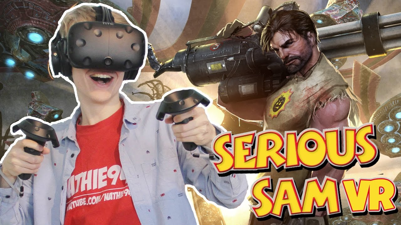 Download VIRTUAL REALITY WAVE SHOOTER! | Serious Sam VR: The Last Hope (HTC Vive Gameplay)