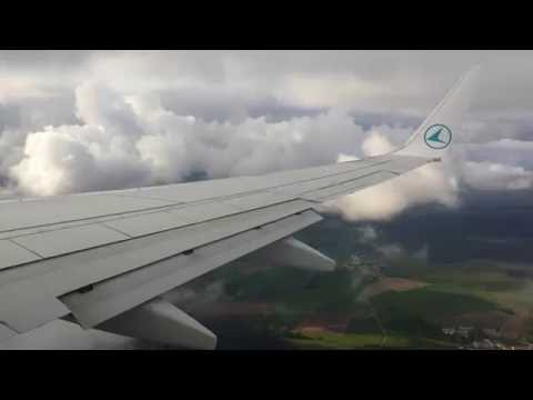 Luxair Boeing 737-700 Landing at Luxembourg