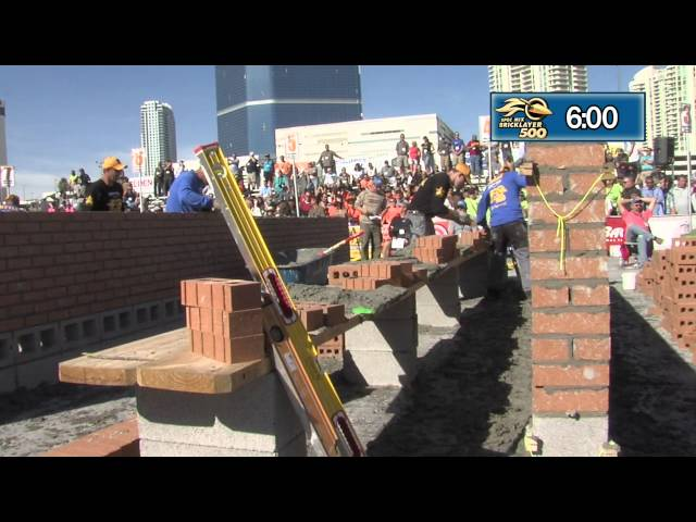 STABILA INTERVIEW AT THE 2015 SPEC MIX BRICKLAYER 500® WORLD CHAMPIONSHIP