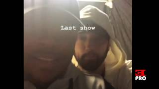 Eminem and Mr. Porter rhyming over the last show :)