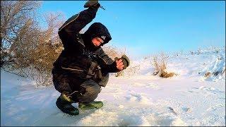 Глухозимье? Безмотылка ВИРУЧАЄ! .. Зимова риболовля на малих річках