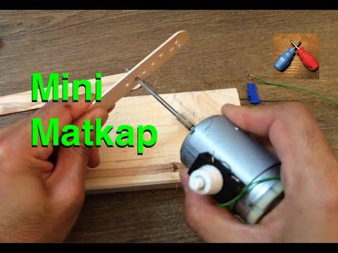Mini Matkap Nasıl Yapılır ? Ev Yapımı Hobi Matkabı
