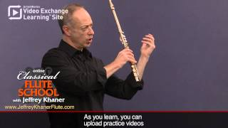 Flute Lessons with Jeffrey Khaner:  Long Tones(Sample flute lesson from http://JeffreyKhanerFlute.com Long tones are a vital part of not only learning how to play the flute, but playing at a high level. The tone ..., 2013-09-16T20:45:17.000Z)