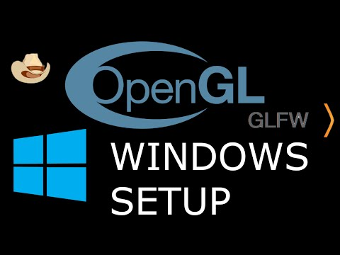 Modern OpenGL 3.0+ [SETUP] GLFW And GLEW On Windows (Absolute Linking)