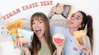 vegan taste test with my non vegan friend!