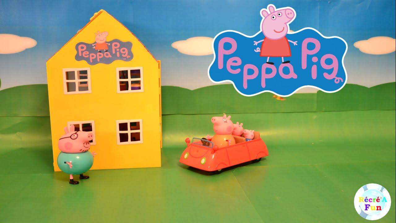 Peppa Pig Dans La Maison De Luxe Deluxe Peppa Pig Playhouse Youtube