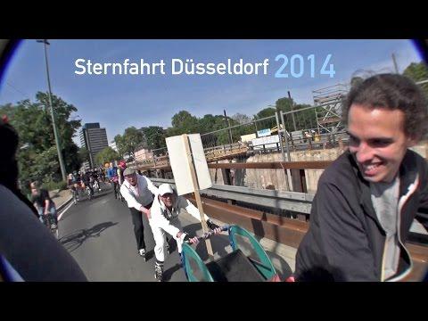 ADFC Sternfahrt Düsseldorf 2014