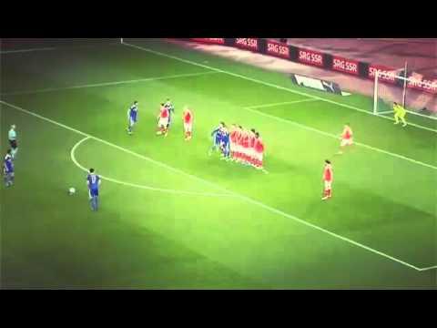 Miralem Pjanic freekick Goal | Bosnia vs. Schweiz