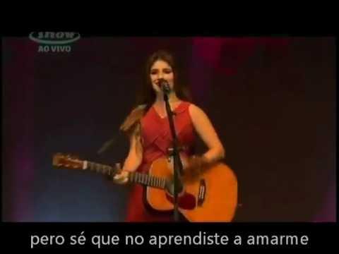 Paula Fernandes  Pra que conversar (subtitulado español)