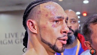 "KEITH THURMAN AFTER FIGHTING PACQUIAO ""PACMAN IS A CHAMPION, I WOULD LOVE A REMATCH!"""