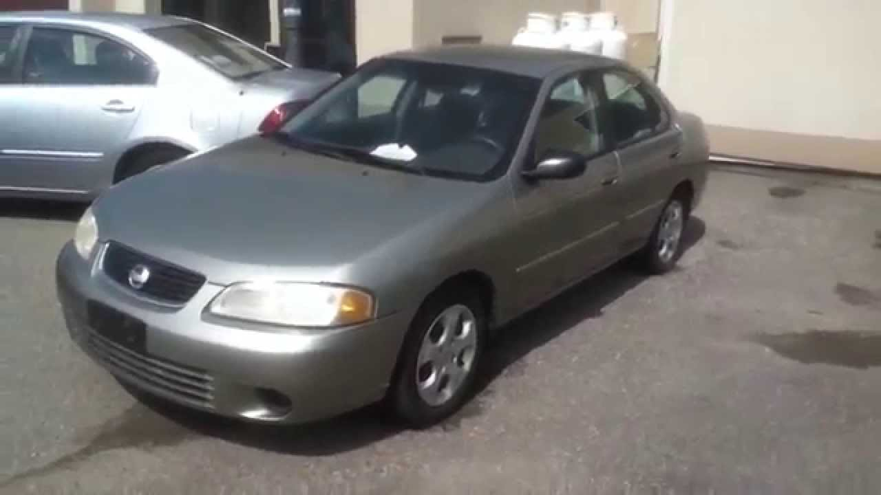 2003 nissan sentra xe startup engine & in depth tour - youtube