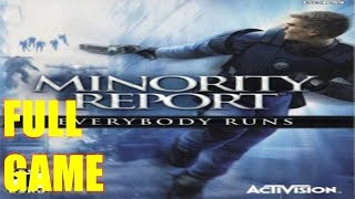 Minority Report: Everybody Runs Full Game Walkthrough Gameplay  No Commentary (PS2) 1080p 50FPS