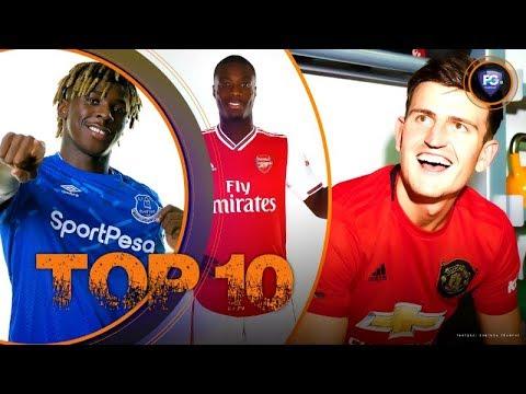 ТОП 10 трансферов Английская Премьер-лига (ЛЕТО 2019)