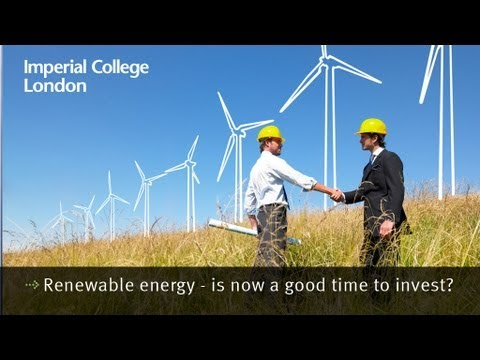 Renewable energy - is now a good time to invest?