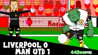 liverpool vs manchester united 0 1 2015 2016 wayne rooney goal 17 1 16