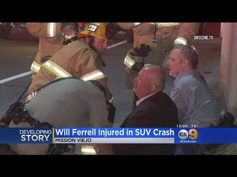 Will Ferrell, 3 Others Hurt In 2-Car Crash