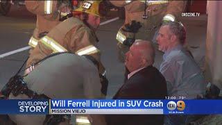 Will Ferrell, 3 Others Hurt In 2-Car Crash