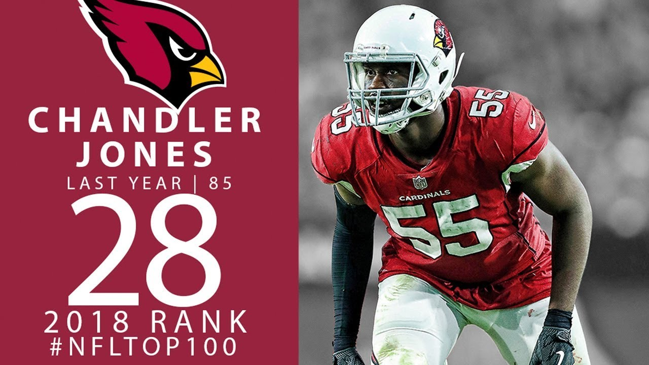 #28: Chandler Jones (DE, Cardinals) | Top 100 Players of 2018 | NFL