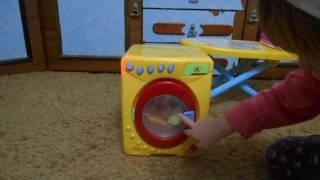 стиральная машина , гладильная доска обзор бытовой техники для девочек