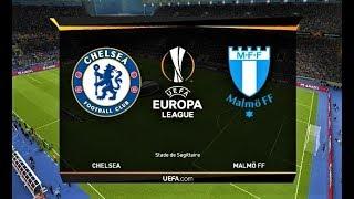 Chelsea vs Malmo | UEFA Europa League | PES 2019 Gameplay HD