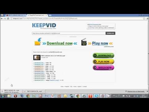 video da youtube con keepvid gratis