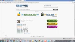 Baixe videos do youtube sem usar programas pelo Keepvid!
