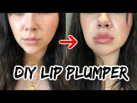 Trying DIY lip plumper's (gone wrong)