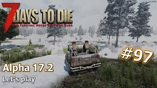 7 Days to Die Alpha 17.2 #97 Winter is coming... finally! - Let's play [deutsch / german]