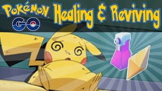 Pokemon GO - How To Heal or Revive Pokemon! [Pokemon GO iOS/Android Tips & Tricks]