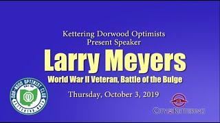 WWII Veteran Larry Meyers