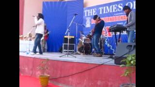 "The DeZire performing Masakali at Ryan International for ""Times Of India"""