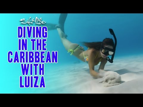 Diving In The Caribbean With Luiza | Salt Life