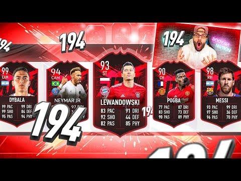 YES! INSANE 194 DRAFT CHALLENGE! FIFA 19 Ultimate Team Draft thumbnail