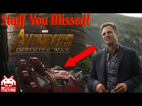 Stuff You Probably Missed in the Infinity War Trailer